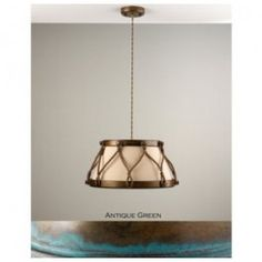 Lustrarte 529 One Light 10.6 Inch Tall Down Light Pendant from the Tambor Collection