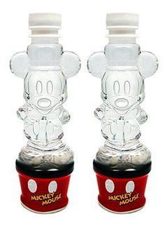 Mock Disney character Mickey Mouse bottled water × 2 this Mickey Mouse Cozinha Do Mickey Mouse, Mickey Mouse Kitchen, Mickey House, Disney Kitchen, Disney Home Decor, Disney Crafts, Mickey Mouse And Friends, Mickey Minnie Mouse, Mickey Mouse Water Bottle