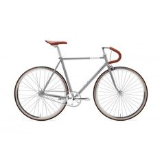 The Vinyl Solo is built around a steel frame and fork with lugged connections and high-end paint job, giving the bike fine handling and great looks. Vinyl, Deep Purple, Steel Frame, Bicycle, Fork, Gabel, Paint, Design, Gray