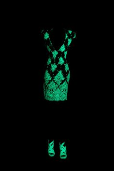 Abed Mahfouz - collection ready to wear Fall Winter 2010-2011 glow in the dark dress