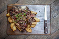 Ribeye steak & Hand-cut chips