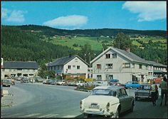 Norge: Fagernes, Valdres, ca 1970