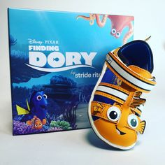 In LOVE with these Disney Pixar Finding Dory Kids Shoes!