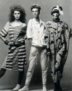 Saks Fifth Avenue, Seventeen magazine, January 1984.