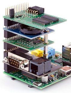 Stack Raspberry Pi expansion cards with ABelectronics - Raspberry Raspberry Pi with French sauce. Arduino, Projetos Raspberry Pi, Sauce Française, Raspberry Computer, Raspberry Projects, Rasberry Pi, Raspberry Sauce, Computer Basics, Cheap Computers