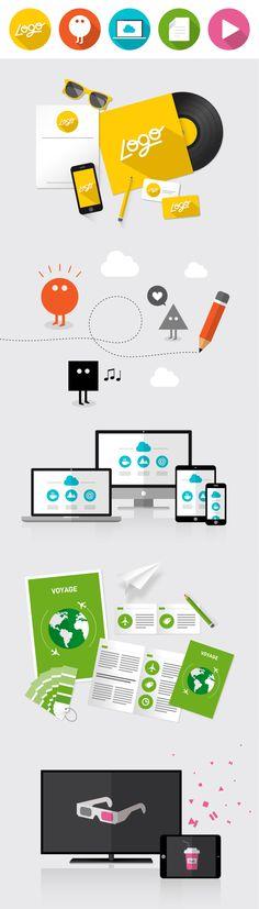 graphiste freelance, illustrateur et webdesigner. Création graphique de logo, support de communication, identité visuelle, illustration, mascotte, packaging, webdesign...