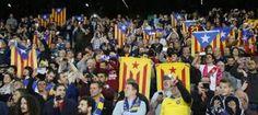 Entitats sobiranistes repartiran 30.000 estelades al partit entre el Barça i el Celtic de la Champions