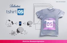tshirt OS (from Ballantin's with Cute Circuit)