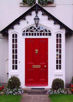 ❁ Home & Garden ❁: Portes dentrées multicolores et fleuries [2]