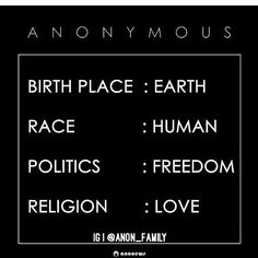 #Anonymous #Anon_Family