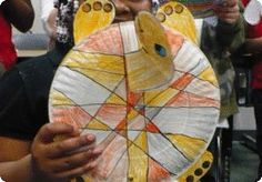 Turtle craft for the Explorers, have them write turtle facts on the plastron