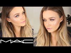Talk Through MAC Cosmetics Makeup Tutorial | Burgundy x 9 Eyeshadow Palette | Beauty.Life.Michelle - YouTube