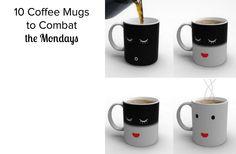 10 Coffee Mugs to Combat the Mondays #bePickie