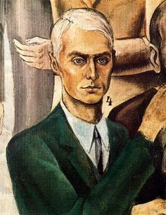 Max Ernst At The Rendezvous of Friends, Self Portrait