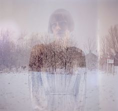 Hauntingly Beautiful Double Exposures by Julia Fullerton-Batten - My Modern Met