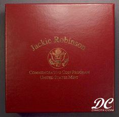 1997 Jackie Robinson 50th Ann. Commem. Gold & Silver 4 Coin Set W/ Box & COA
