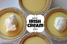Mix and Match Mama: Mini Irish Cream Pies