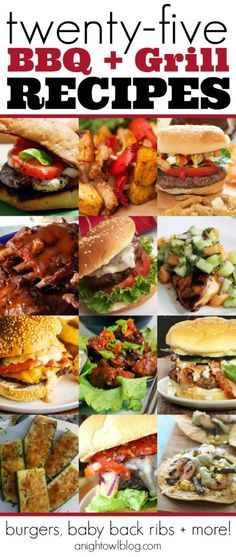 25 BBQ and Grill Recipes