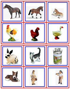 Learning Activities, Activities For Kids, Farm Animals, Montessori, Preschool, Gallery Wall, Children, English Kindergarten, Frame