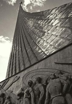 The Monument to the Conquerors of Space was created in 1964, during the Cold War. Along with others, it is a monument to the legacy of the USSR.