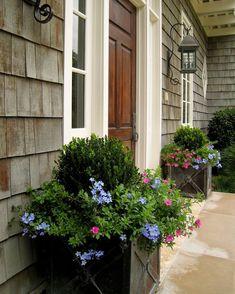 Front Porch Planters...