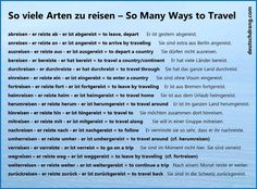 reisen prefixes 2 -