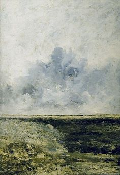 Seascape (1894) - August Strindberg