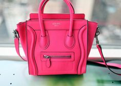 Another Celine Luggage Bag in Hot Pink........ want!