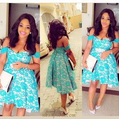 Short Off-shoulder Blue Lace Ruched Hi-lo Satin Chic Cocktail Dress,Homecoming Dress uk African Dresses For Women, African Attire, African Fashion Dresses, African Women, Ghanaian Fashion, Nigerian Fashion, Ankara Fashion, African Girl, Dresses Short