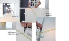 DIY: liukuovi - Valkoinen Harmaja   Divaaniblogit