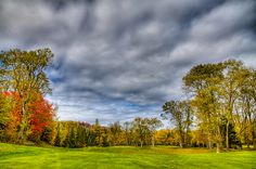 #ADK#Adirondacks#Golf - Thendara Golf Course - Autumn Landscape 6