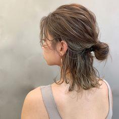 Pony Hairstyles, Wedding Hairstyles, Medium Hair Styles, Short Hair Styles, Hair Arrange, Uzzlang Girl, About Hair, Work Fashion, Hair Inspo