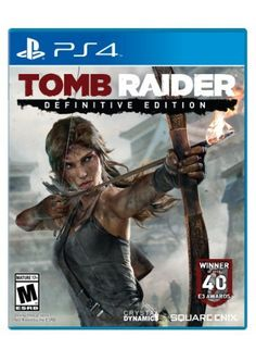 Tomb Raider Definitive Edition Art Book Packaging  PlayStation 4 by Square Enix ** Read more reviews of the product by visiting the link on the image.(It is Amazon affiliate link) #texas