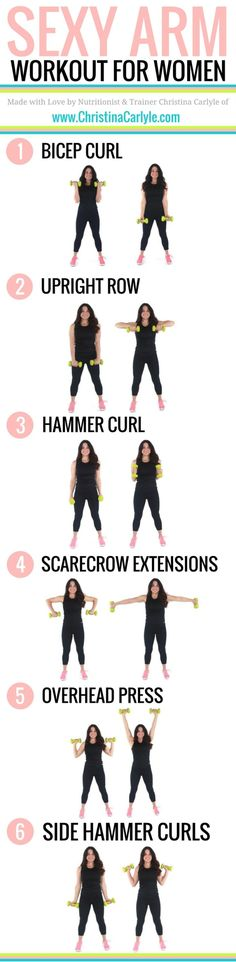 Easy Yoga Workout - Do your arms make you self conscious? This Arm Workout for Women will help you tighten and tone your arms fast. Try this arm workout for women now. Get your sexiest body ever without,crunches,cardio,or ever setting foot in a gym Fitness Workouts, Fitness Motivation, Fitness Memes, Fitness Diet, At Home Workouts, Health Fitness, Yoga Fitness, Arm Workouts, Workout Meals