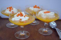 Viikonloppukokki: Tyrni-appelsiinikiisseli loistaa kilpaa sydäntalve...