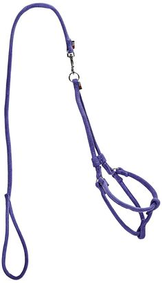 Dogline Soft Padded Microfiber Round Step-In Pet Dog Harness with 18 to Chest and Leash, Purple -- You can find more details by visiting the image link. (This is an affiliate link and I receive a commission for the sales) Dog Harness, Dog Leash, Dog Accesories, Dog Hotel, Bulldog Puppies For Sale, Pet Dogs, Pets, Dog Food Storage, Dog Store