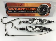 Whisker Seeker Tackle Catfish Rigs rattle and vibrate and have been performing well in tests and producing fish. That's why we added them to the Ultimate Guide To Catfishing Gear.