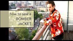 DIY Leather Bomber Jacket | Half Baked - YouTube