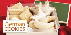 Bavarian Best: German cookie recipes - Pfeffernusse, Springerle, Kipferl, Zimstern - my grandmother was German and we ate these every Christmas along with anise cookies