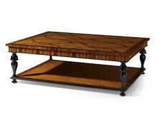Rectangular wooden coffee table MG 4047 by OAK