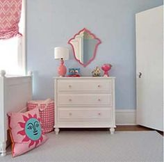 Pink Girl Bedroom Decorating Ideas by Lotus Blue Design