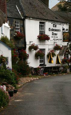 Devon, England Lovliest area besides the Costwolds. Like a picture postcard.
