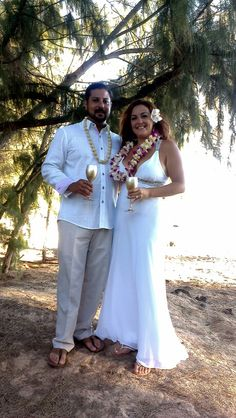 David and Diana got married at shipwreck beach August 23rd 2013