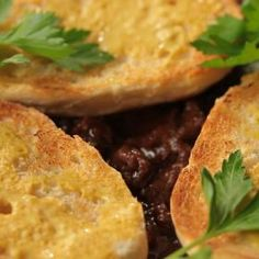 Hovězí carbonnade Cornbread, French Toast, Tacos, Mexican, Breakfast, Ethnic Recipes, Food, Millet Bread, Morning Coffee
