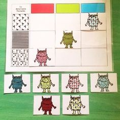 Petite Section, Emotion, Montessori, Monster, Kids Rugs, Ms, Cycle 1, Holiday Decor, Baby