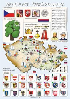 Elementary Science, European History, Teaching Spanish, Czech Republic, Kids Playing, Activities For Kids, Homeschool, Classroom, Map