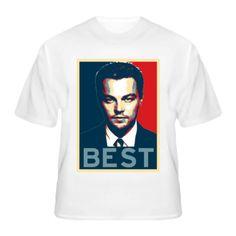 Leonardo Dicaprio BEST EVER Actor T Shirt