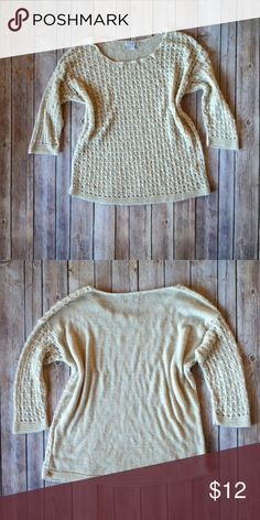 Charming Charlie Sweater Lightweight sweater. Size medium. Worn maybe once or twice. Charming Charlie Sweaters