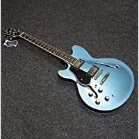 Revelation RT-45 Semi Hollow L//H Electric Guitar Metallic Blue B-STOCK