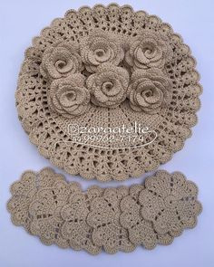 1 million+ Stunning Free Images to Use Anywhere Crochet Table Mat, Crochet Doily Rug, Crochet Coaster Pattern, Crochet Placemats, Crochet Rug Patterns, Crochet Mandala Pattern, Granny Square Crochet Pattern, Doily Patterns, Crochet Home